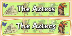 Aztec Display Banner