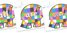 Tricky Words on Elmer to Support Teaching on Elmer