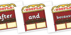 Connectives on Hoopla Stands