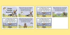 Dingle Dangle Scarecrow Nursery Rhyme Cards