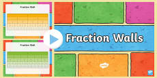 Fractions Wall PowerPoint
