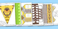 Enkl Safari Printable Party Pack