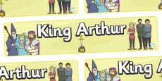 King Arthur Display Banner