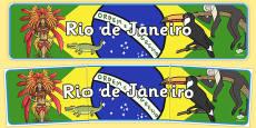 Rio de Janeiro Role Play Banner