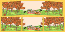 Australia - Autumn Small World Background