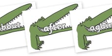 KS1 Keywords on Enormous Crocodile to Support Teaching on The Enormous Crocodile