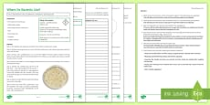 Where Do Bacteria Live? Investigation Instruction Sheet Print-Out