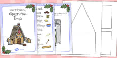Australia - Gingerbread House Recipe Instructions