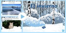 Winter Information PowerPoint Spanish/Español