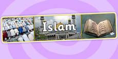 Islam Photo Display Banner
