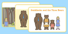 Goldilocks and the Three Bears Story Sequencing