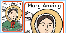 Mary Anning Display Poster