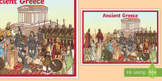 Ancient Greece A2 Display Poster