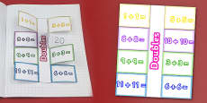 Doubling Numbers Interactive Visual Aids