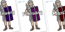Months of the Year on Roman Soldiers