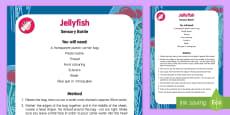 Jellyfish Sensory Bottle