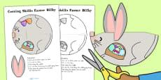 Australia - Cutting Skills Easter Bilby