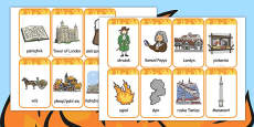 The Great Fire of London Flashcards Polish