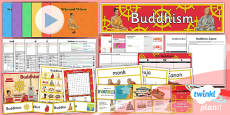 PlanIt - RE Year 4 - Buddhism Unit Pack