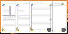 Halloween Magic Potion Writing Activity Sheet (Australia)