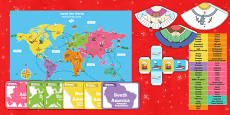 Travel the World Board Game Polish Translation Polish/English - Polski / Angielski