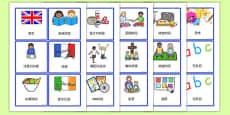 Visual Timetable for KS1 Mandarin Chinese