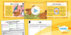 PlanIt - Science Year 5 - Living Things and Their Habitats Lesson 6: Comparing Life Cycles Lesson Pack