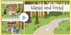 Hänsel und Gretel Märchen PowerPoint