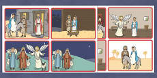 My Christmas Story Sequencing  Activity 4 per A4 - Australia