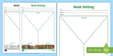 Book Week Setting Y Chart Activity Sheet