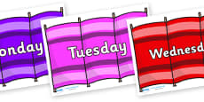 Days of the Week on Windbreakers