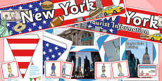 New York Tourist Information Office Role Play Pack