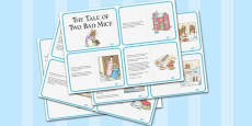 The Tale of Two Bad Mice Story Cards (Beatrix Potter)