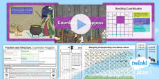 PlanIt Y4 Position and Direction Lesson Pack Polygons (1)