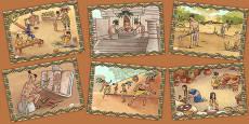 Mayan Civilisation Illustration Pack