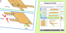 Making Levers and Linkages: Snapping Crocodile Activity Sheet