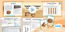 History: Ancient Sumer: Making Their Mark UKS2 Lesson Pack 3
