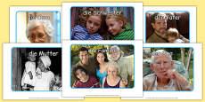 My Family Display Photos German