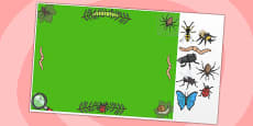 Minibeast Themed Editable PowerPoint Background Template