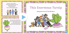 This Enormous Turnip Song PowerPoint