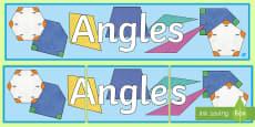 Angles Display Banner