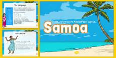 Samoa Information PowerPoint