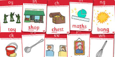Active Literacy Phonics Programme Stage 2 Display Posters