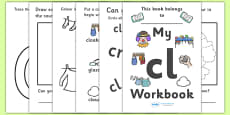 My 'cl' Letter Blend Workbook