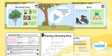 Computing: Presentation Skills: Planning a Branching Story Year 3 Lesson Pack