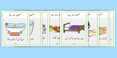 Health and Hygiene Display Posters Urdu
