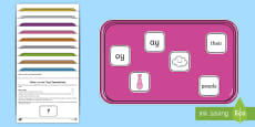 * NEW * What's on the Tray? Phase 5 Memory Activity Pack