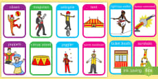 Circus Flashcards