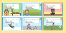 Inference Picture Cards