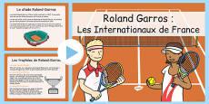 Roland-Garros Information PowerPoint French